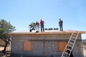 Agape Community Center roof