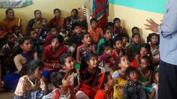Children's bible school India gracethrufaith