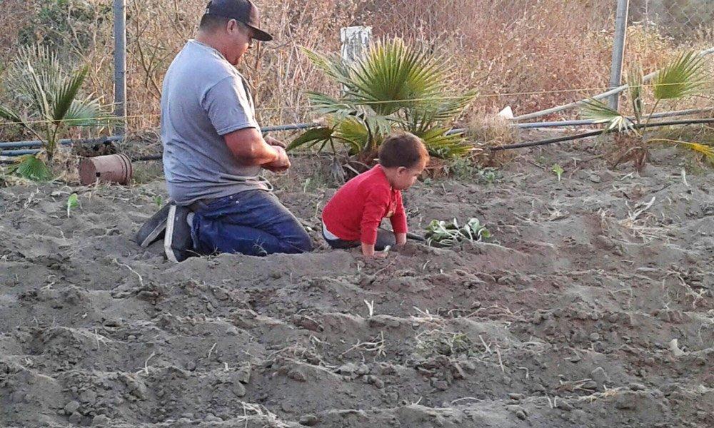 Family planting gracethrufaith
